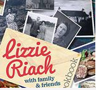 Lizzie Riach with Family and Friends charity cookbook