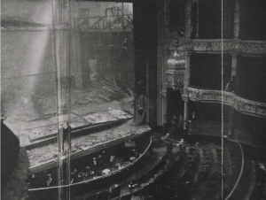 Empire Palace Theatre after the fire