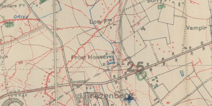 WW1 Trench Maps - Gen Blog - Official Blog of Wakefield Family ...