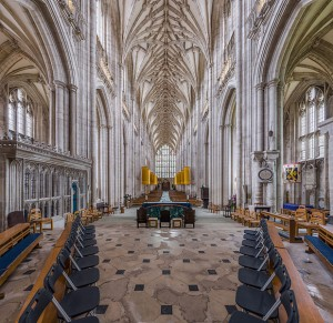 Winchester Cathedral interior from Wikipedia