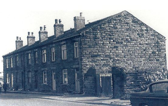 Brooks Buildings in Station Road Drighlington, pictured in the 1960's.