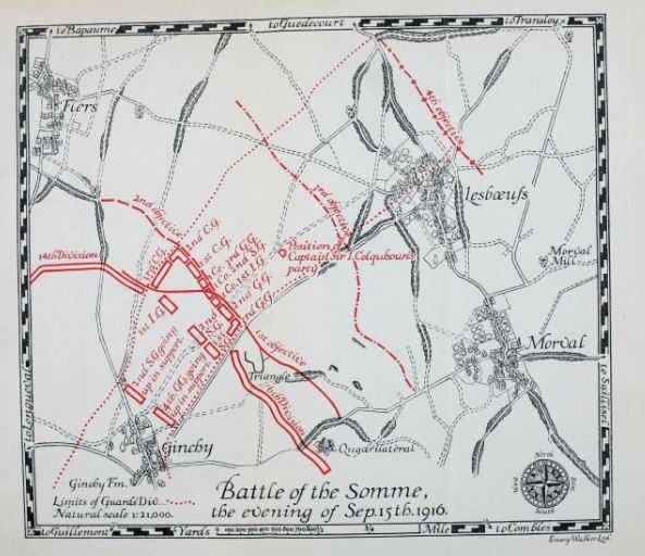 lesboeuf map source coldstream guards book