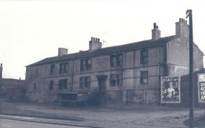 The front of the old White Hart Hotel in the 1960's.