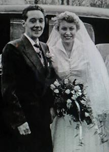 Beryl B wed day