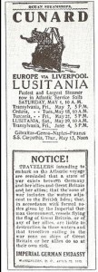Advert from American papers - Wikipedia
