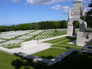 Etaples Military Cemetery via CWGC