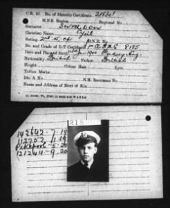 Merchant seaman records via Find My Past