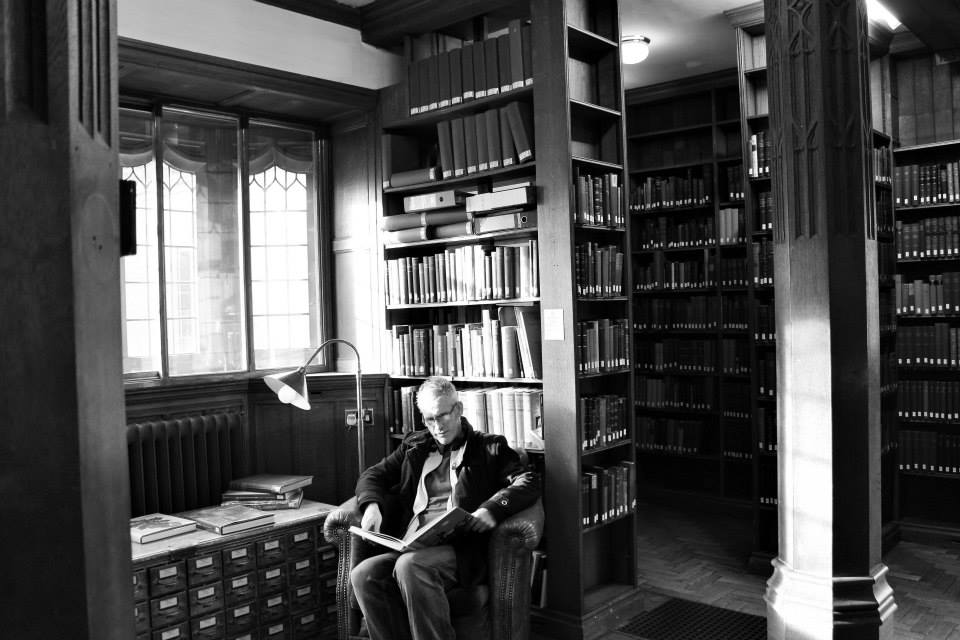 John Broom studying at the Gladstone library via his blog