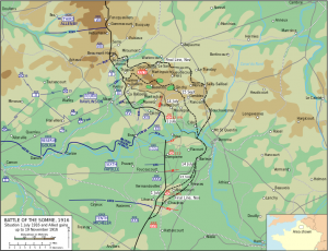 The Somme 1916 via Wikipedia