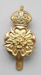 Queen's Own Yorkshire Dragoons cap badge