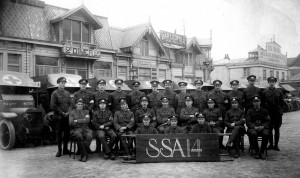 FAU Section Sanitaire Anglaise 14 at Dunkirk 1916 (Library reference: TEMP MSS 881/PHOT/SSA14/1/5) Quaker Library