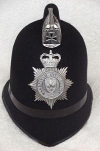 Wakefield City Police helmet via Pinterest - date not known