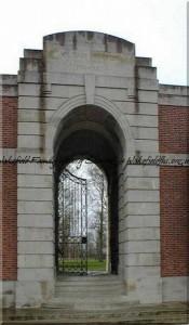 Lijssenthoek Military Cemetery entrance © Carol Sklinar