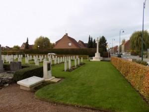 Bois-Grenier CWGC cemetery via CWGC