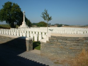 Beaurevoir cemetery via CWGC