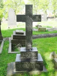 Joyner family headstone