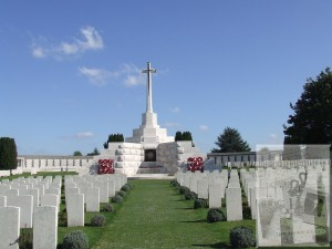 Tyne Cot Cross of Sacrifice © Carol Sklinar 2016
