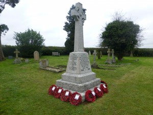 Layham War Memorial 2014 via Jeffrey Ward