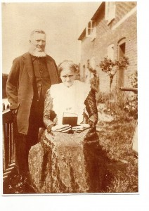 Robert Ward (1833-1912) &Emily Hynard (1838-1910) via J Ward