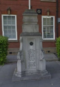 West Riding Constabulary War Memorial