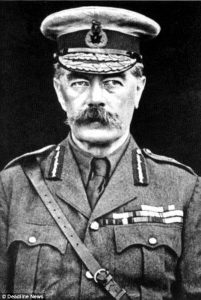 Lord Kitchener via Daily Mail